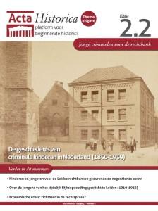 voorkant Acta Historica 2.2.